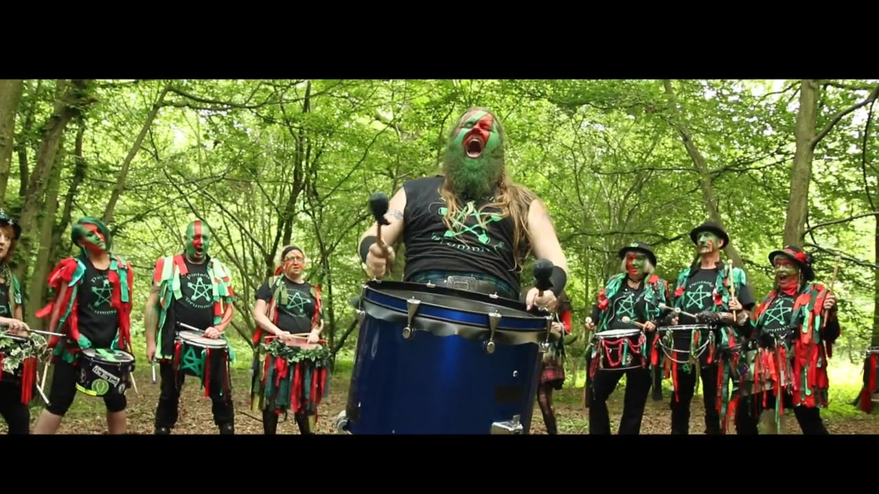 Pentacle drummers with their War Cry
