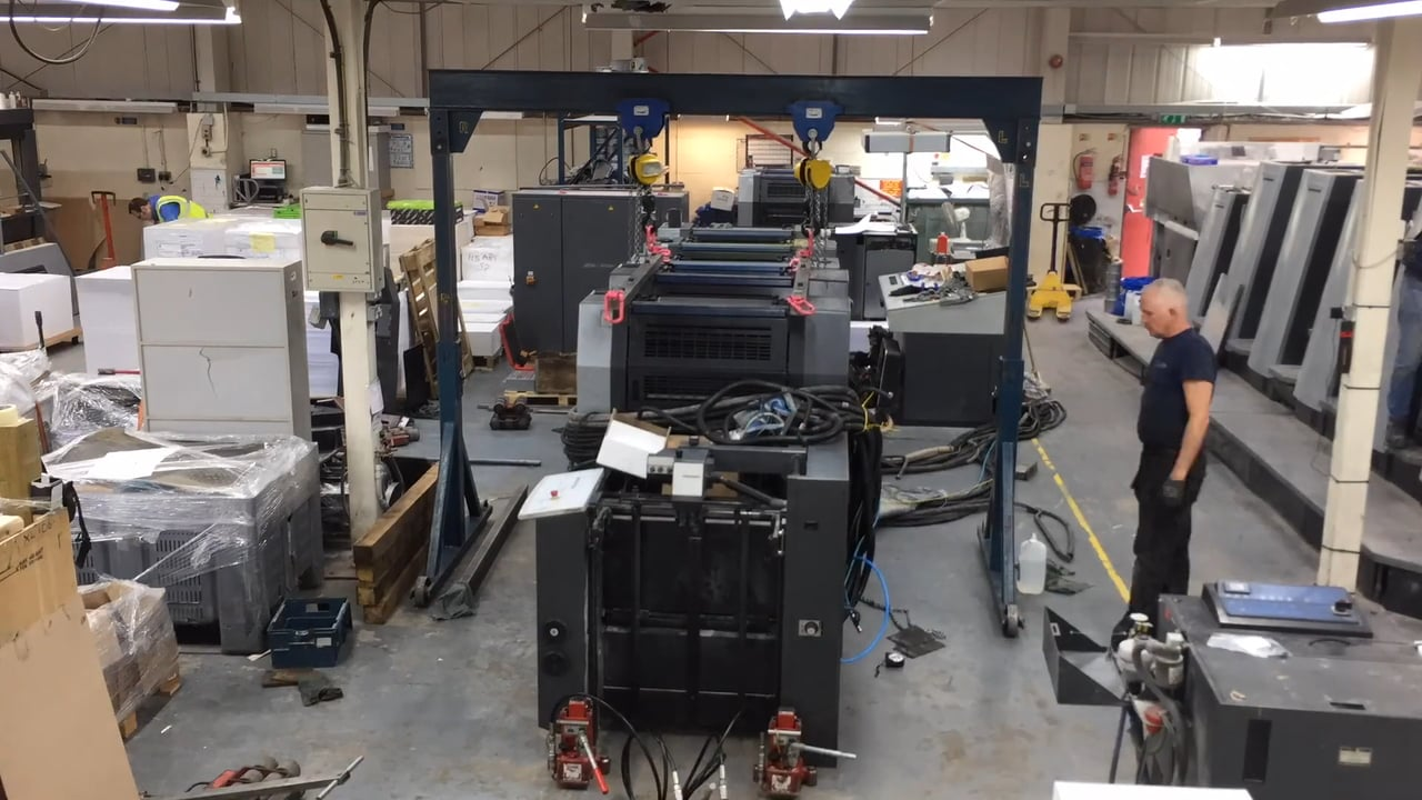 Installation of SM52 Press in time lapse