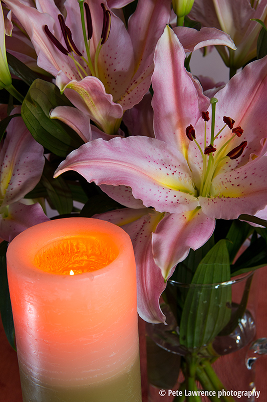 still-life-lillies-and-candle